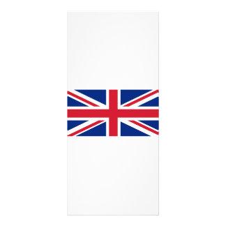 Bandera de Reino Unido Diseño De Tarjeta Publicitaria