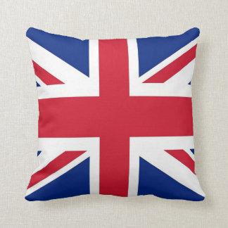 Bandera de Reino Unido en la almohada de MoJo del