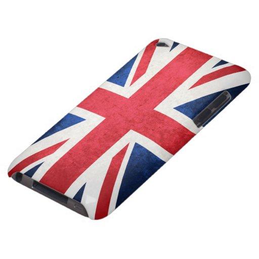 Bandera de Reino Unido Barely There iPod Protectores
