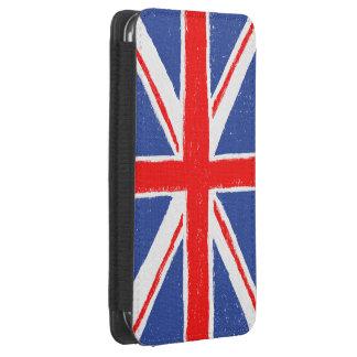 Bandera de Reino Unido Funda Acolchada Para Galaxy S4