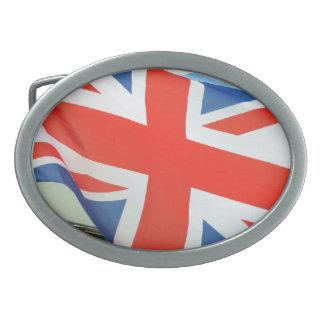 bandera de Reino Unido Hebillas Cinturon