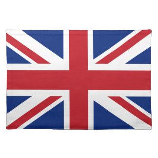 Bandera de Reino Unido Mantel Individual