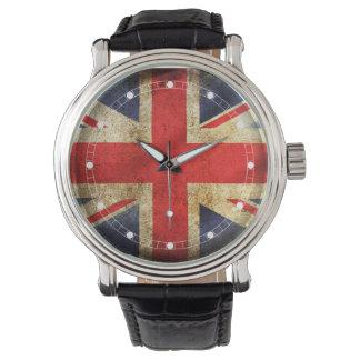 Bandera de Reino Unido (modelos múltiples) Relojes De Pulsera
