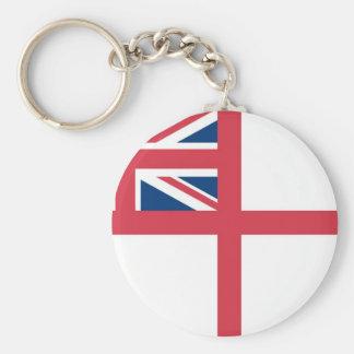 Bandera de Reino Unido real Llavero Redondo Tipo Pin