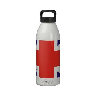Bandera de Reino Unido Reino Unido Botellas De Agua Reutilizables