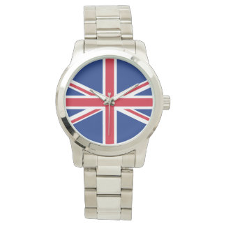 Bandera de Reino Unido Reloj De Mano