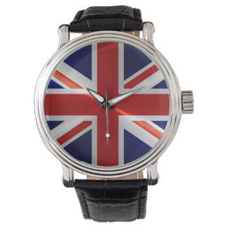 Bandera de Reino Unido Relojes De Pulsera
