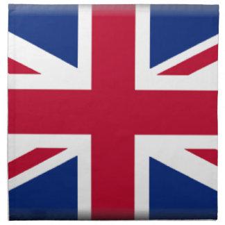 Bandera de Reino Unido Servilletas