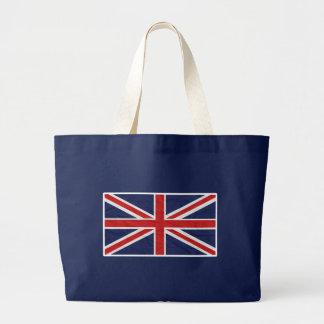 Bandera de Reino Unido Union Jack Bolsa De Tela Grande