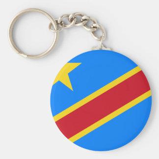 Bandera de República Democrática del Congo Llavero