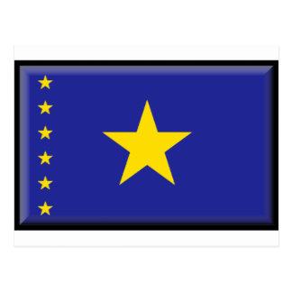Bandera de República Democrática del Congo Postales