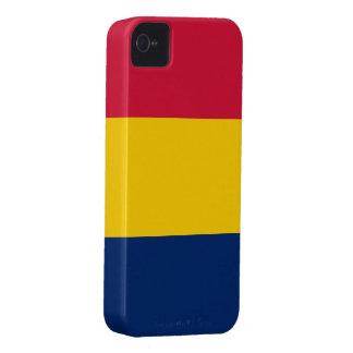 Bandera de República eo Tchad Case-Mate iPhone 4 Protector