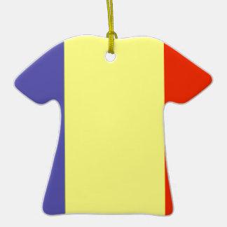 Bandera de República eo Tchad Adorno Para Reyes