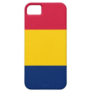 Bandera de República eo Tchad iPhone 5 Carcasas