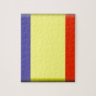 Bandera de República eo Tchad Rompecabezas