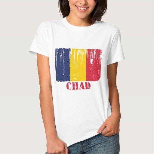 Bandera de República eo Tchad Remeras