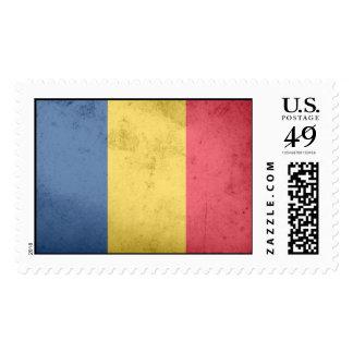 Bandera de República eo Tchad Sellos