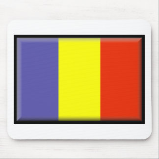 Bandera de República eo Tchad Alfombrilla De Ratón