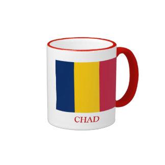 Bandera de República eo Tchad Taza