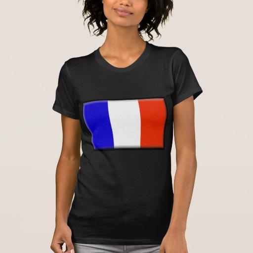 Bandera de Reunion Island Camiseta