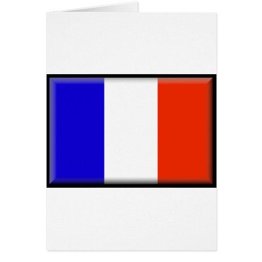 Bandera de Reunion Island Tarjetas