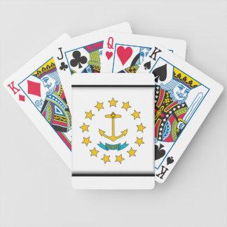 Bandera de Rhode Island Baraja Cartas De Poker