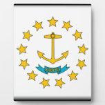 Bandera de Rhode Island Placas Con Foto
