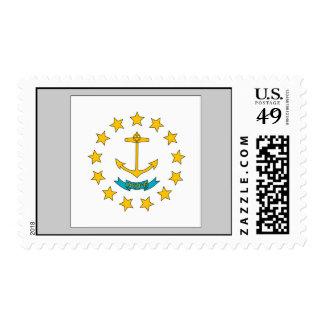 Bandera de Rhode Island Sello