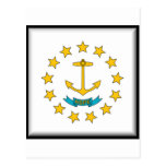 Bandera de Rhode Island Tarjeta Postal