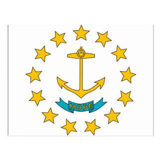 Bandera de Rhode Island Tarjetas Postales