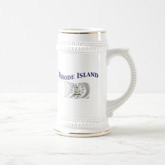 Bandera de Rhode Island Tazas