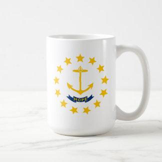 Bandera de Rhode Island Taza