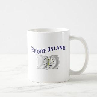 Bandera de Rhode Island Taza De Café