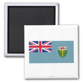 Bandera de Rhodesia (1964-1968) Imán Cuadrado