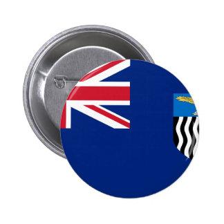 Bandera de Rhodesia septentrional Pin Redondo De 2 Pulgadas