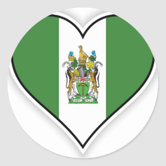 Bandera de Rhodesian Pegatina Redonda