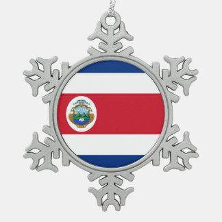 Bandera de Rican de la costa Adornos