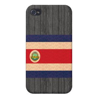 Bandera de Rican de la costa de Pern del vintage iPhone 4 Protector