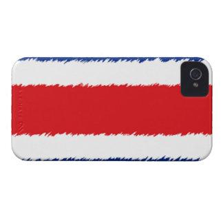 Bandera de Rican de la costa iPhone 4 Case-Mate Cárcasa