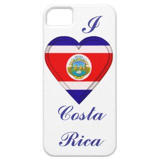 Bandera de Rican del coste de Costa Rica iPhone 5 Carcasas