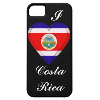 Bandera de Rican del coste de Costa Rica iPhone 5 Case-Mate Cobertura