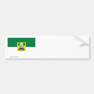 Bandera de Rio Grande do Norte, el Brasil Pegatina Para Auto