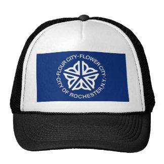 Bandera de Rochester Gorras De Camionero