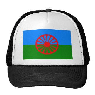 Bandera de Roma (bandera Romani) Gorro De Camionero
