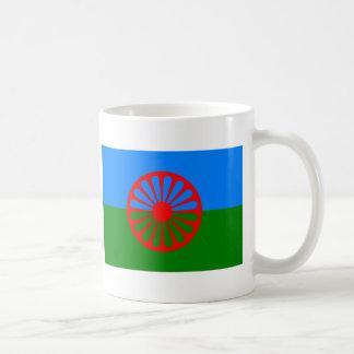 Bandera de Roma (bandera Romani) Tazas