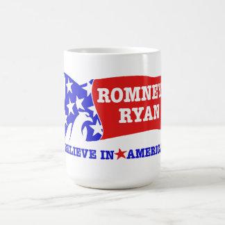 Bandera de Romney Ryan Eagle Taza