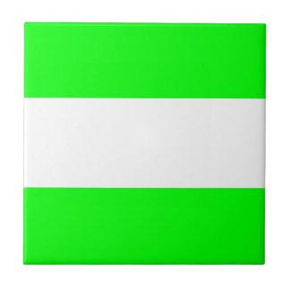 Bandera de Rotterdam Azulejo Cuadrado Pequeño