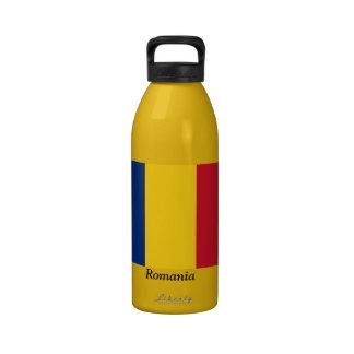 Bandera de Rumania Botella De Beber