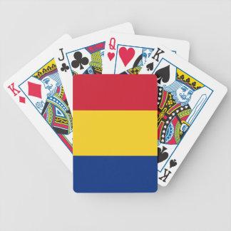 Bandera de Rumania Baraja Cartas De Poker