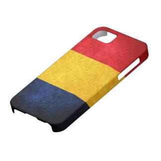 Bandera de Rumania iPhone 5 Case-Mate Carcasa